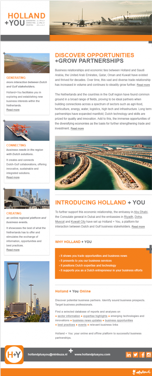 Holland + You