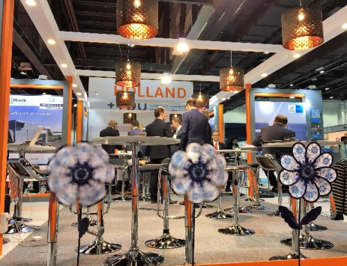 Holland Paviljoen op de Water, Energy, Technology and Environment Exhibition WETEX 23 tot en met 25 oktober 2018
